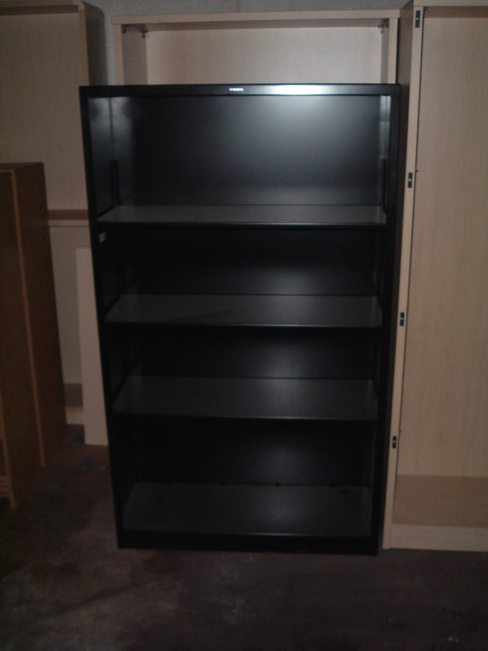 Delightful Used Hon Metal Bookcases